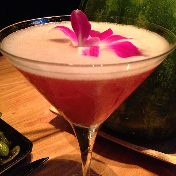 Raspberry Yuzu Martini - The Hurricane Steak & Sushi, New York, NY