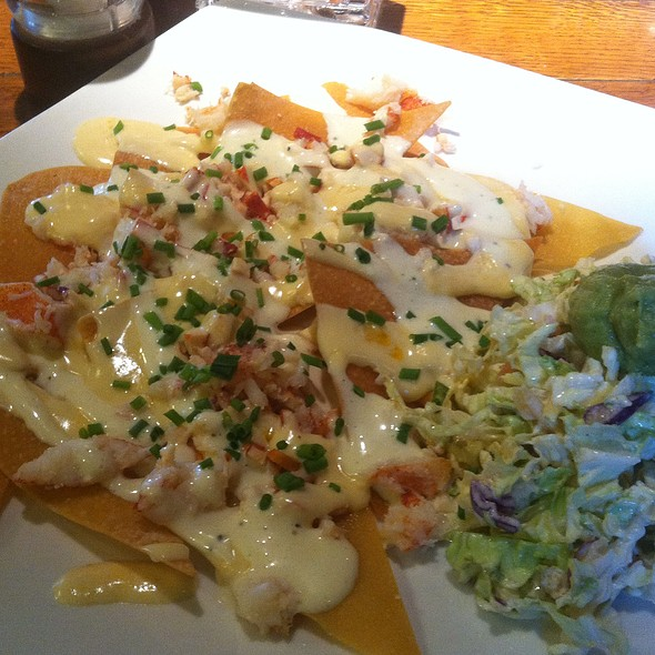 Lobster Nachos - Gamekeepers Taverne, Chagrin Falls, OH