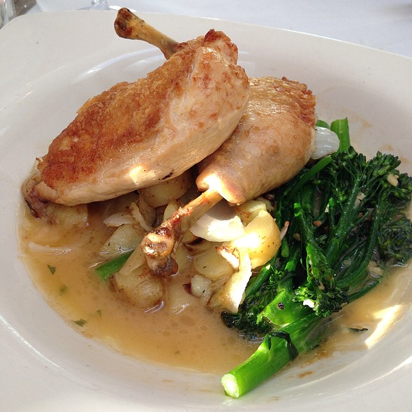 Half Chicken With Potatoes And Broccoli Rabe - Fifth Season, Port Jefferson, NY