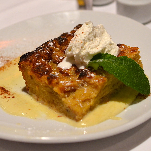 White Chocolate Bread Pudding - Fleming's Steakhouse - Scottsdale, Scottsdale, AZ