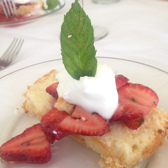 Lemon Pound Cake Dessert - The Farmhouse, Palmetto, GA