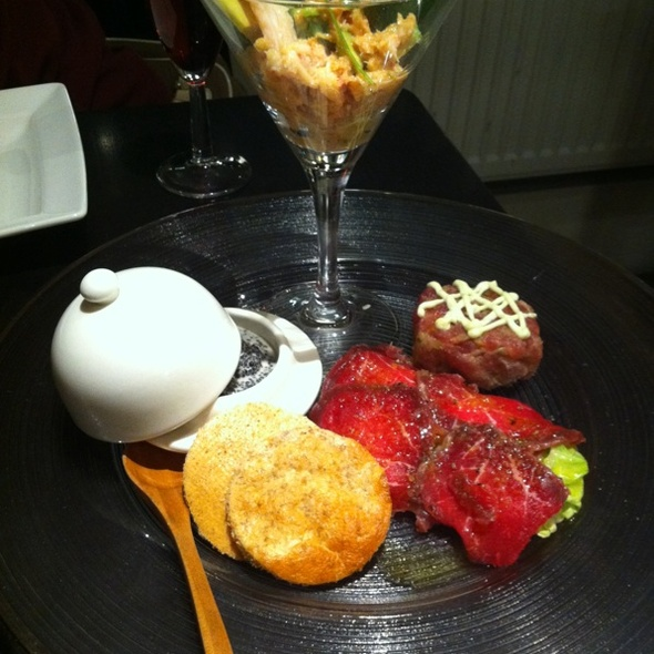 Hors d'oeuvres - SO Restaurant, London
