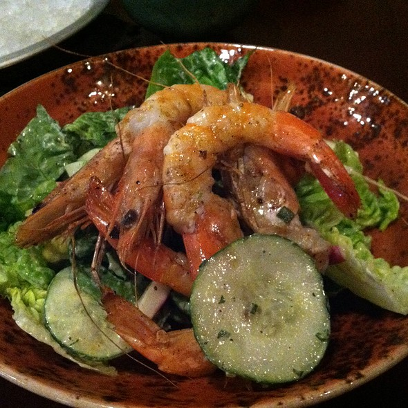 Grilled Shrimp Salad - Rappahannock, Richmond, VA