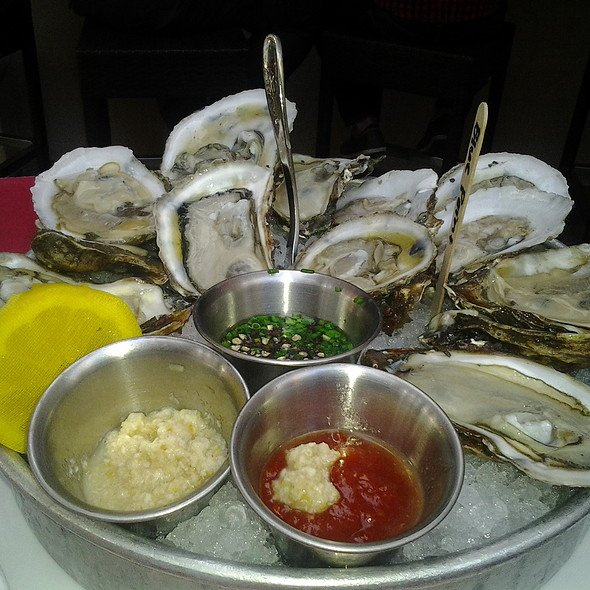 Blue Point Oysters - Racks Downtown Eatery + Tavern, Boca Raton, FL