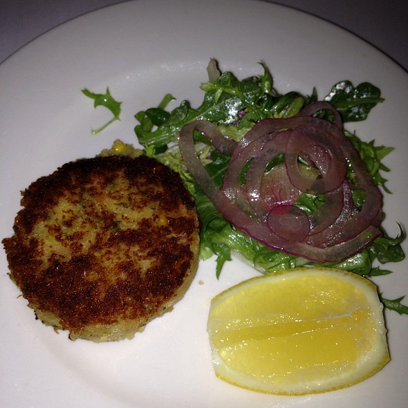 Maryland Lump Crab Cake - Keens Steakhouse, New York, NY