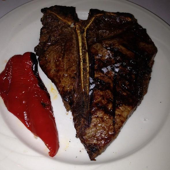 Prime T-Bone Steak - Keens Steakhouse, New York, NY