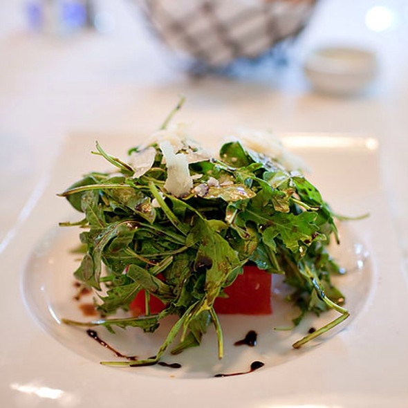 Compressed Watermelon Salad - Bedford Village Inn, Bedford, NH