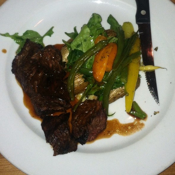 Hanger Steak - Parkside Grille, Portola Valley, CA