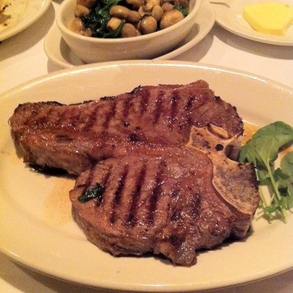 porterhouse steak - Morton's The Steakhouse - Seattle, Seattle, WA