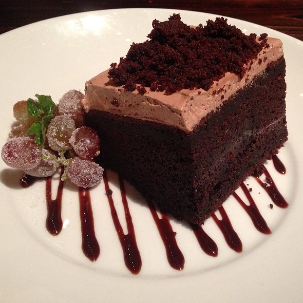 Vegan Chocolate Cake With Peanut Butter Frosting - Slice of Vegas, Las Vegas, NV