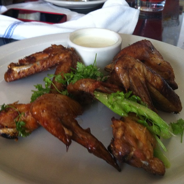 More Smoked Chicken Wings - The Forge, Oakland, CA