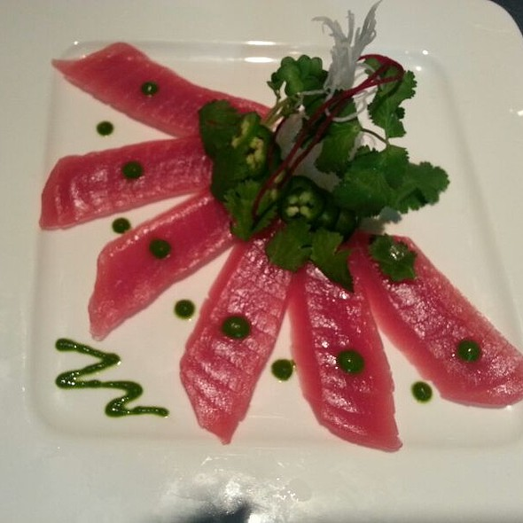 Tuna Carpaccio - The Blue Fish - Las Colinas, Irving, TX