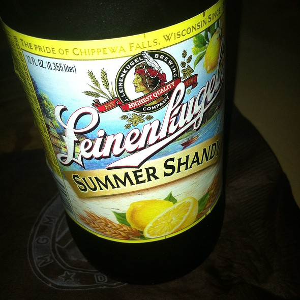 Leinenkugel's Summer Shandy - TAP at MGM Grand Detroit, Detroit, MI