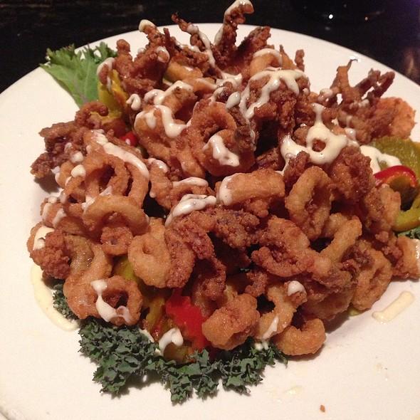 Calamari - Go Fish Restaurant, Mystic, CT