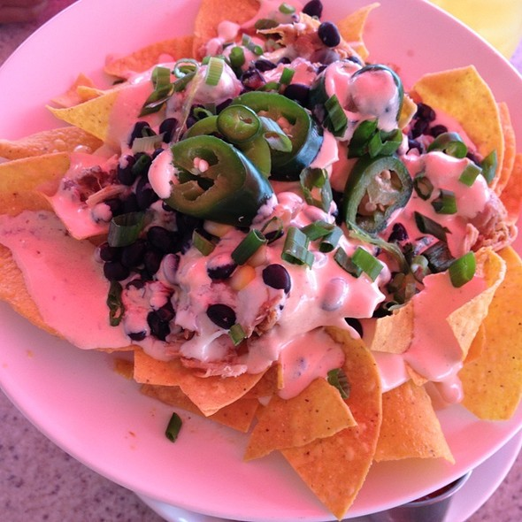 Chicken Nachos - Quarterdeck Waterfront Dining, Hilton Head Island, SC