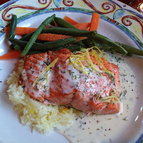 Copper River Salmon - Fins Bistro, Issaquah, WA