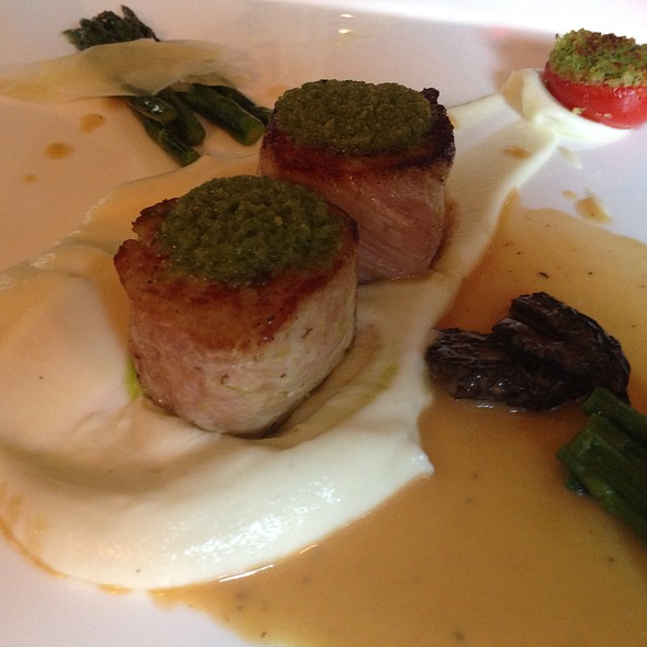 Noisettes Of Veal With Gremolata Crust - La Panetiere, Rye, NY
