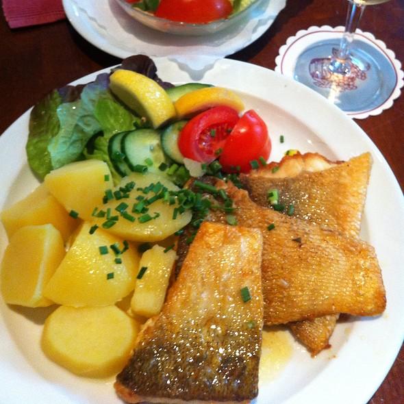 Zanderfilet - Restaurant und Parkcafé Forstbaumschule, Kiel, SH