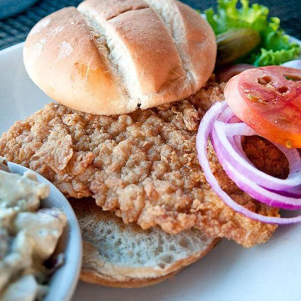 Pork Tenderloin - George's Neighborhood Grill, Indianapolis, IN