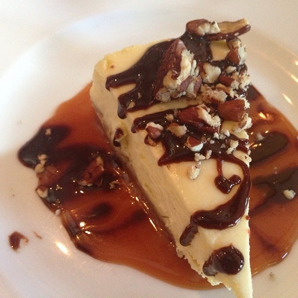 Turtle Cheesecake - Oyster Club, Mystic, CT