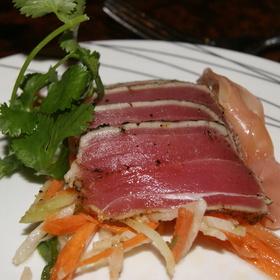 Seared Ahi Tuna - Fleming's Steakhouse - LA, Los Angeles, CA