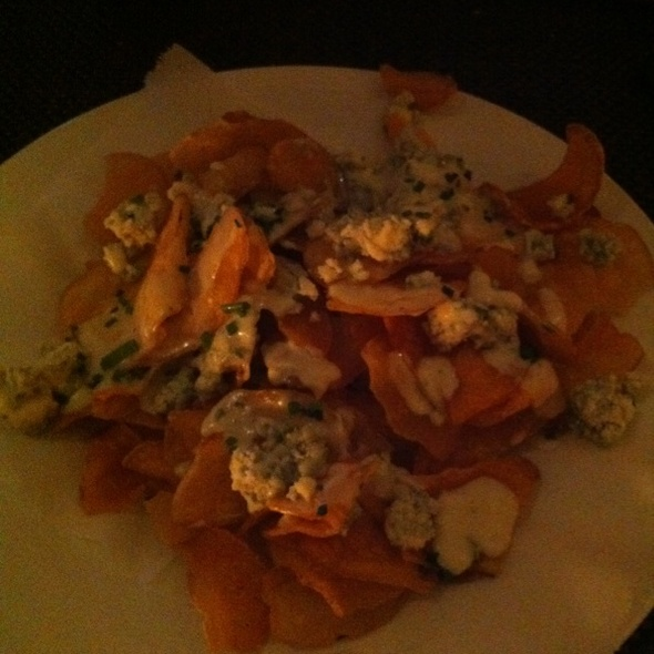 Maytag Blue Cheese Potato Chips - Wolfgang Puck Steakhouse - MGM Grand Detroit, Detroit, MI