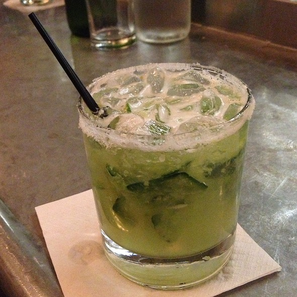 Cucumber Jalapeno Margarita - The Smith- Lincoln Square, New York, NY