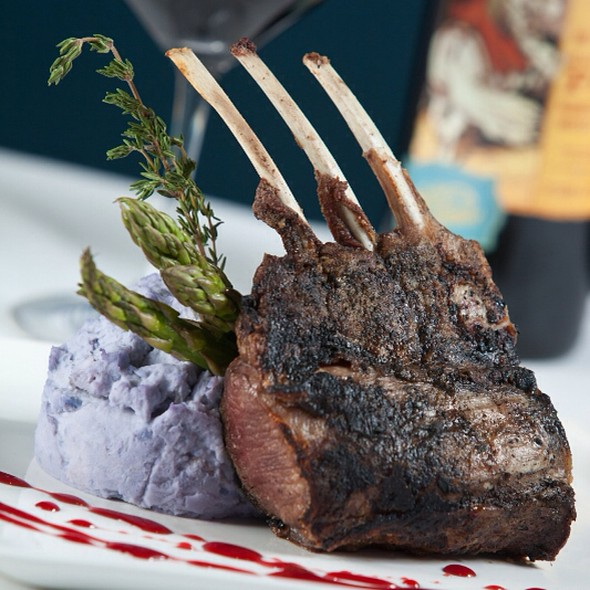 Rack of Lamb - SeaBlue Restaurant & Wine Bar, North Myrtle Beach, SC