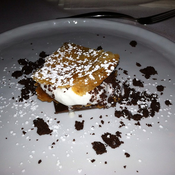 Dark chocolate Napoleon with salted caramel - The Farm and Fisherman, Philadelphia, PA