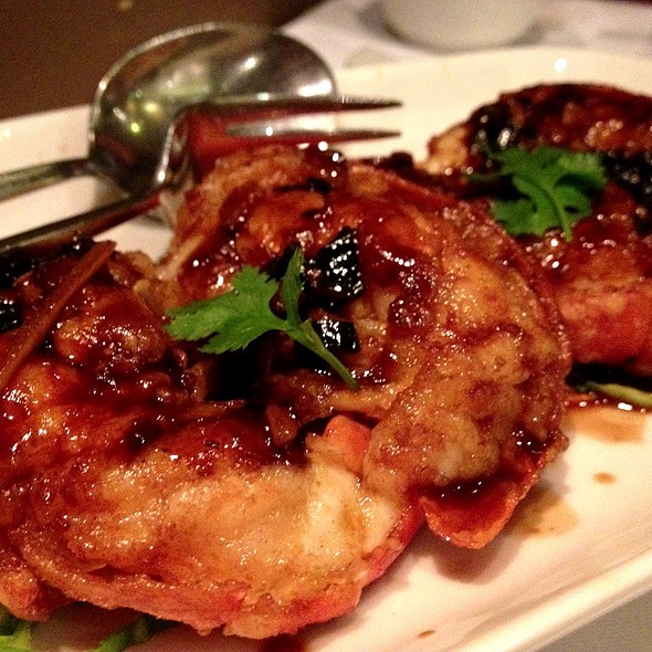 Grilled King Prawn With Garlic Soya Sauce - Pearl Liang, London