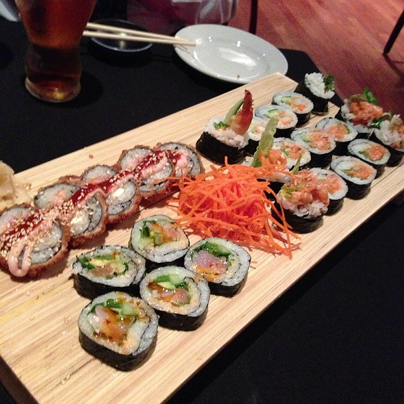 Happy Hour Sushi Rolls - Rare Steak and Sushi, Minneapolis, MN