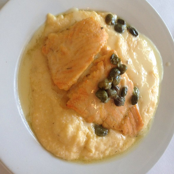 Lemon Caper Salmon - The Blue Fish Restaurant, Jacksonville, FL