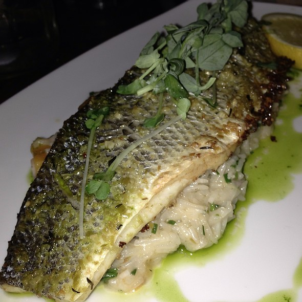 Herb Roasted Branzino - Catch New York, New York, NY