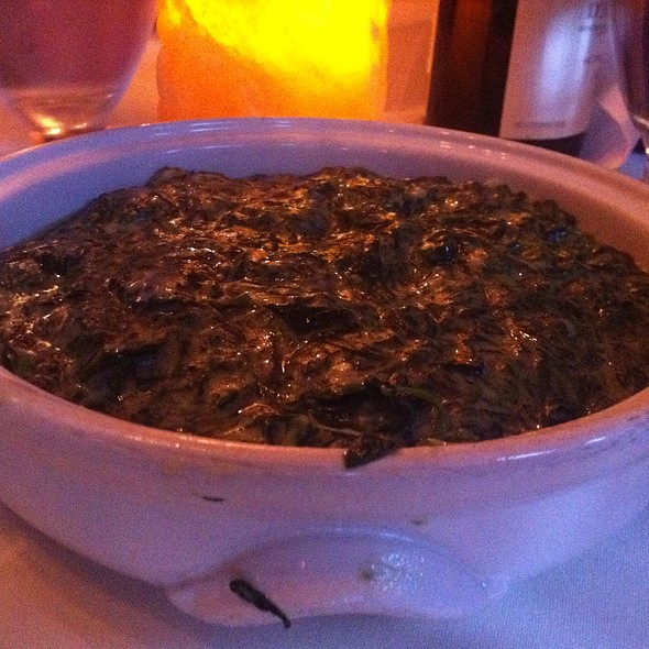 Creamed Spinach - Jake's Steakhouse, Bronx, NY