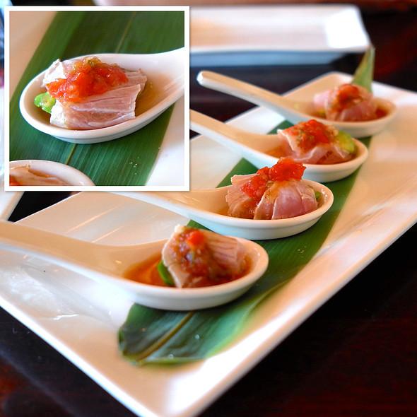Hamachi Spoons - Pure Sushi Scottsdale, Scottsdale, AZ