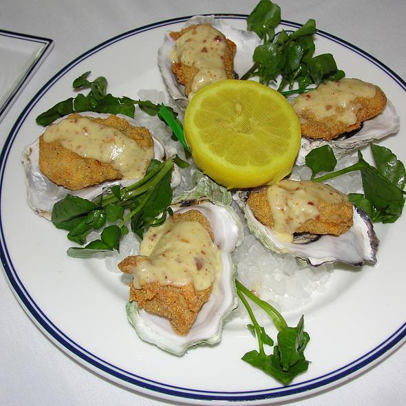 Fried Oysters on the Half Shell - NYY Steak - Yankee Stadium, Bronx, NY