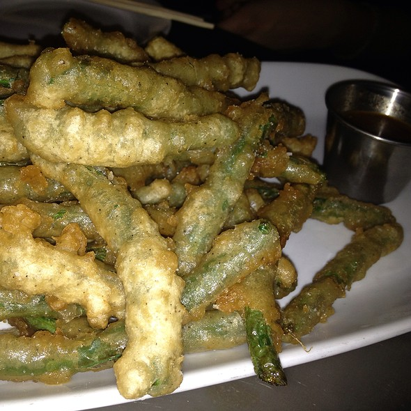 Tempura Battered String Beans - Punch Restaurant, New York, NY