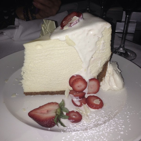 Cheesecake - Pappas Bros. Steakhouse, Dallas, TX