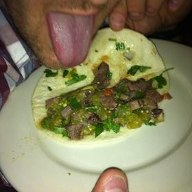 Beef Tongue Taco - Loca Luna, Atlanta, GA