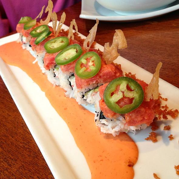 Lotus On Fire Roll - Kabuki Japanese Restaurant - Tempe, Tempe, AZ