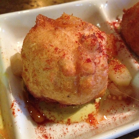 Pimiento Cheese Beignets - Restaurant Cotton, Monroe, LA