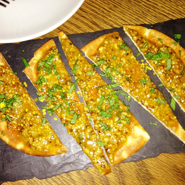 Dukkah Naan Mint - The Fat Radish, New York, NY