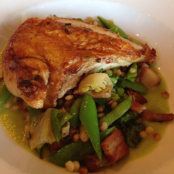 Brined chicken - Bellanico Restaurant and Wine Bar, Oakland, CA