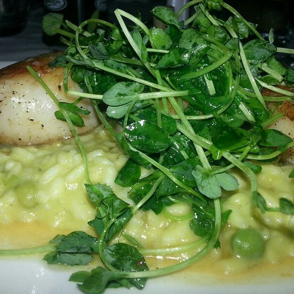 Scallops with Risotto - Café Milano, Washington, DC