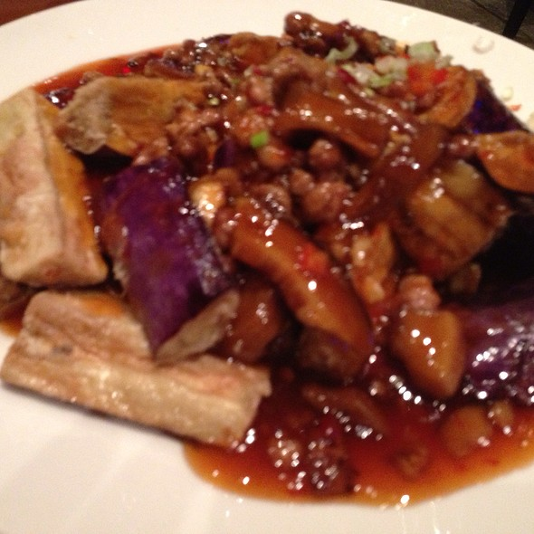 Szechuan Eggplant - Red Lantern – Thunder Valley Casino Resort, Lincoln, CA