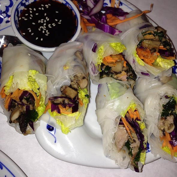 Summer Roll With Roast Duck - Addie's Thai House, Chesterfield, MO