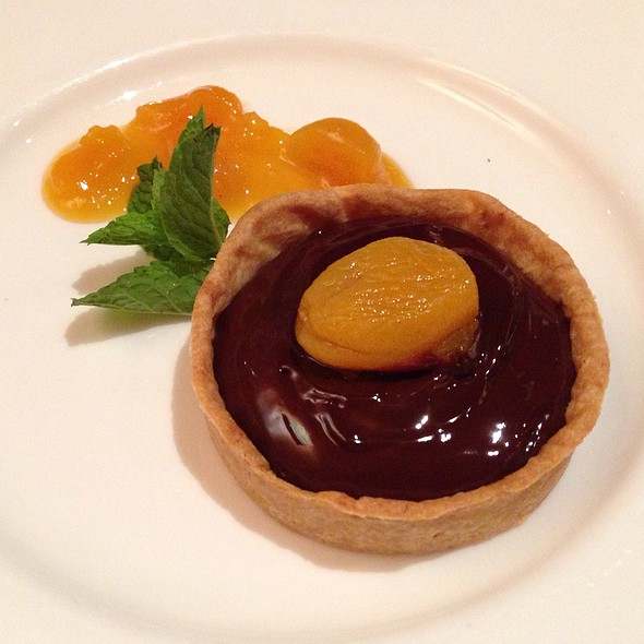 Chocolate Ganache Tart - Erling Jensen The Restaurant, Memphis, TN