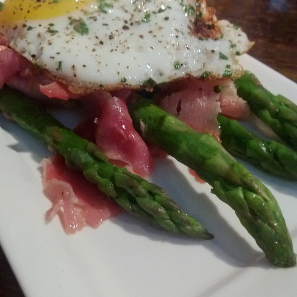 "Asparagus ""Ham 'n Eggs"" - The Tavern Kitchen & Bar - West, St. Louis, MO"