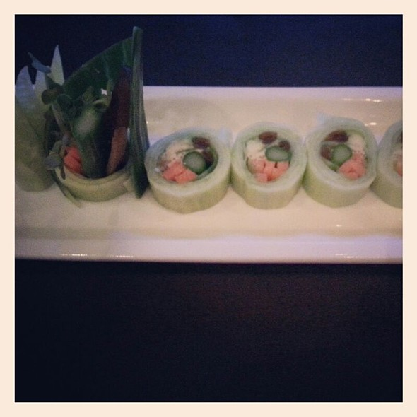 Vegetable Roll - The Blue Fish - Las Colinas, Irving, TX