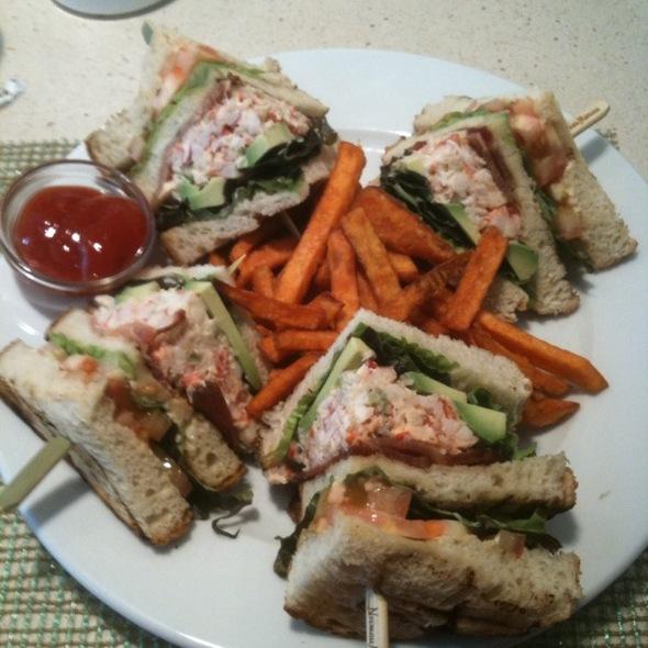 Lobster club sandwich - NM Cafe at Neiman Marcus Topanga, Canoga Park, CA